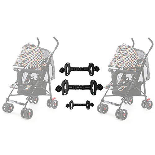 Universal Stroller Connectors for Two Single...