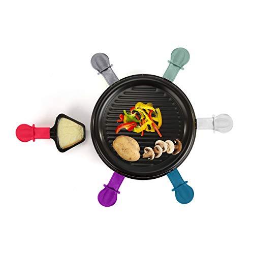 LIVOO DOC207 Appareil à Raclette 6 Personnes