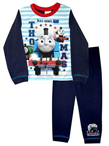 TDP Textiles Thomas die Lokomotive Rail Rebel Jungen Pyjama 4-5 Jahre