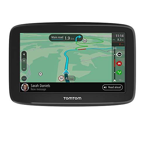 TomTom GPS para Coche GO Classic, 5 Pulgadas, con tráfico y Prueba de radares Gracias a TomTom Traffic, mapas de la UE, actualizaciones a través de WiFi, Soporte Reversible Integrado