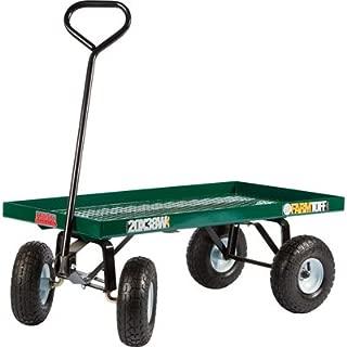 Farm Tuff Flatbed Garden Wagon - 800-Lb. Capacity, 38in.L x 20in.W, Model Number 20X38W