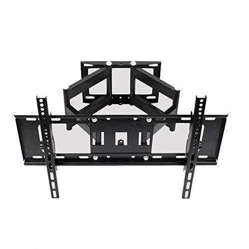 FGDSA Soporte de Pared para TV MAX VESA 600x400mm Girar a la Izquierda y a la Derecha & plusmn; 60 ° para televisores de 32-55 Pulgadas con un Peso de hasta 40 kg Escalable 100-495 mm
