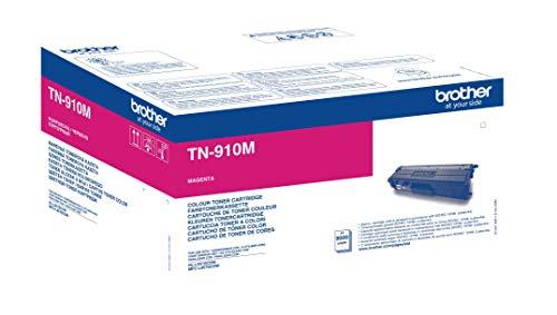 Brother Original Ultra-Jumbo-Tonerkassette TN-910M magenta (für Brother HL-L9310CDW, HL-L9310CDWT, HL-L9310CDWTT, MFC-L9570CDW, MFC-L9570CDWT) 9000 Seiten
