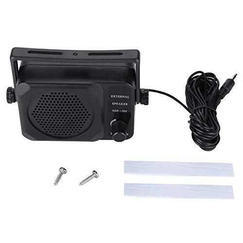 Telituny Altavoz Externo - Altavoz Externo de Radio móvil para Coche para FT-7800R FT-8900R TM261