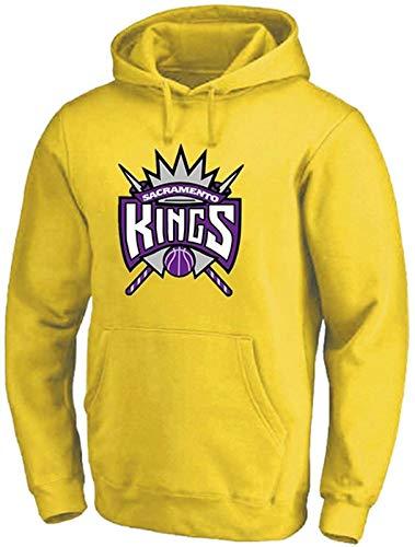 HCMNMW Sudadera con Capucha NBA Sudadera con Capucha de Baloncesto, Sacramento Kings Suéter Deportivo Sudadera de Manga Larga Mejor Regalo de cumpleaños S-3XL - Unisex (Color : E, Size : XL)