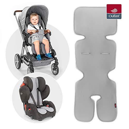 Reer 86131 TravelKid Breeze atmungsaktive Sitzauflage für Kinderwagen, Buggy, Autositz, Fahrradsitz und co