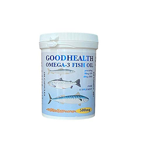 Goodhealth Omega 3 500mg 180 Capsules - Potted