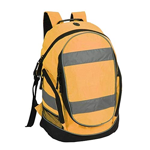 Shugon Hi-Vis Rucksack/Backpack - 23 Liters (One Size) (Hi Vis Orange)