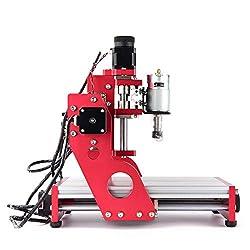 ETE ETMATE CNC 1419 Metal Engraving Cutting Machine Router, Desktop DIY Milling Machine, Aluminum Copper Wood PVC PCB Machine