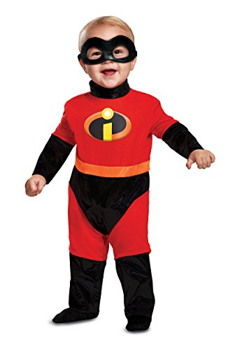 Disguise Baby Incredibles Infant Classic Costume, red, (6-12 mths)