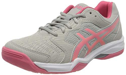 Asics Gel-Dedicate 6, Tennis Shoe Mujer, Oyster Grey/Pink Cameo, 38 EU