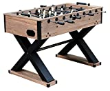 Hathaway Excalibur 54-in Foosball Table, Driftwood
