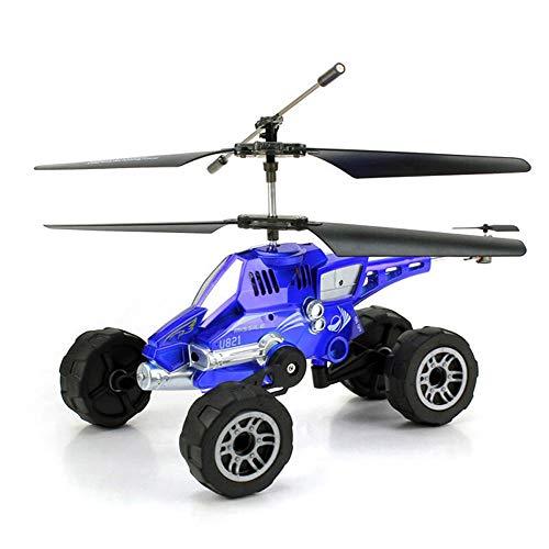 Poooc Drop Feste Lade drahtlose Fernbedienung Flugzeug Himmel und Land Dual-Use-Fernbedienung Spielzeug DREI-in-one Multifunktions Kämpfer mit LED-Beleuchtung 2,4 GHz 4-Kanal-Fernbedienung Spielzeug