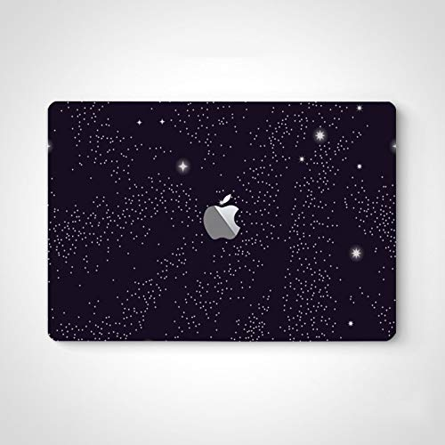 Vinyl Stickers Decals Blue Galaxy Secrety Space Laptop Stickers Skin Decal for MacBook Air 13' Pro 13'/15'/16' 2008-2020 Version Laptop Keyboard Decal Sticker
