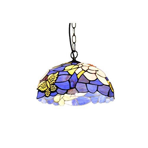 Luce Plafoniera Porche Restaurante Baño Villa Elegante Serie Retro Luz hecha a mano Luz cálida Lámpara de mariposa LED