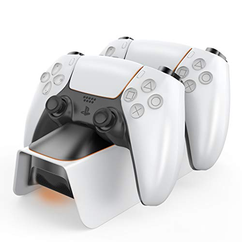 Controller Stazione di Ricarica, Caricabatterie per Controller DualSense Playstation 5