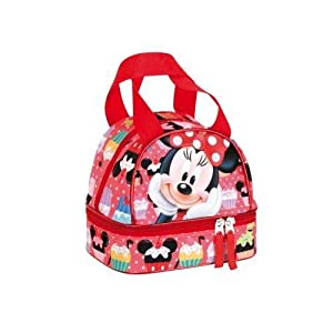 Minnie Mouse portamerienda de Minnie Colours Bolsa de Deporte Fitness y Ejercicio Infantil, Juventud Unisex, Multicolor…