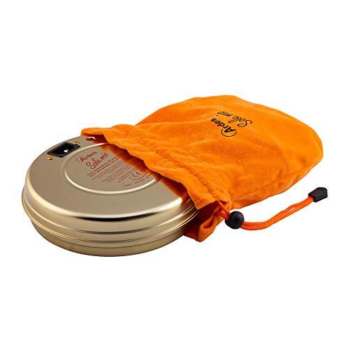 Calentador eléctrico Ardes Sole Mio con lámpara espía y termostato de seguridad, bronce
