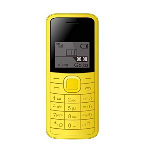 I KALL K73 144 Inch Display Single Sim Feature Phone Yellow