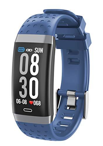 baratos y buenos Pulsera deportiva MMTEK Total Sport – Pulsera de actividad con pantalla a color de 0,96 pulgadas, con reloj… calidad