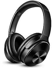 OneAudio Noise Cancelling hoofdtelefoon, draadloze Bluetooth hoofdtelefoon met 30 dB hybride actieve ruisonderdrukking & 30 uur speelduur & geïntegreerde microfoon handsfree over ear headset