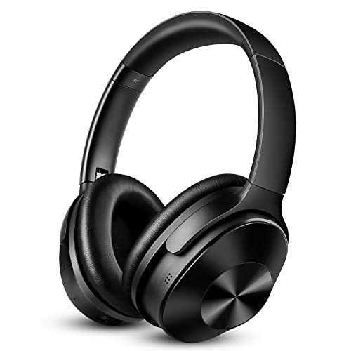 OneOdio Noise Cancelling Kopfhörer Bluetooth Drahtlose Over Ear Headphones - mit 30dB Hybrid Aktiver Geräuschunterdrückung & 30 Stunden Spielzeit & Eingebauter Mikrofon Freisprechen