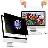 WELINC 21 Inch (Measured diagonally) 16:10 Wide Aspect Ratio-Monitor Privacy Screen Filter - Width 17.8 Inch (452 mm), Height 11.14 Inch (283 mm) Except Edges. - Anti-Blue Ray - Anti-Glare