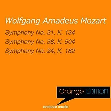 Orange Edition - Mozart: Symphony No. 21, K. 134 & Symphony No. 24, K. 182