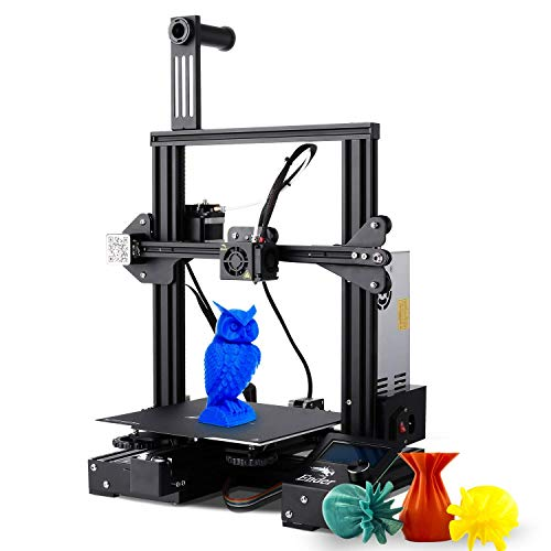 3D Printer, Creality Ender 3 Pro 3D Printer Kit with Resume Function, Cmagnet Build Plate and Upgraded Power Supply, Compatible with PLA TPU 1.75mm Filament, 220x220x250mm Printing Size