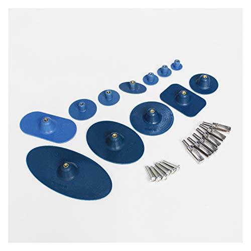 Yuquanxin 12st Extra Large PDR-Tools Set Kleber Tabs Kit for Den Karosseriebau Dent Repair Pulling Dauerhaft (Color : 12pcs)