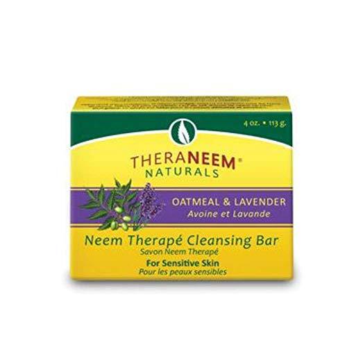 Oatmeal Lavender & Neem Oil Soap - 4 oz - Bar Soap