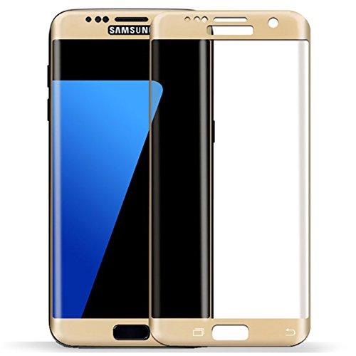 MUNDDY Protector Cristal Templado Completo Curvo 3D para Samsung S7 Edge. Full...