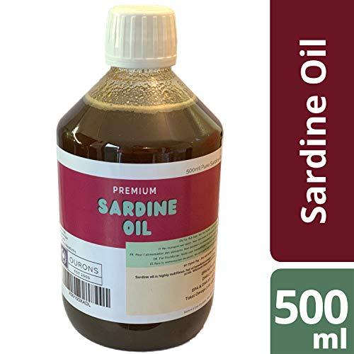 Aceite de sardina puro para cebos y piensos, 500 ml
