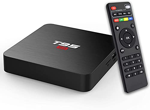 Android TV Box, TUREWELL S2 Android 7.1 1GB/8GB Smart Internet TV Box Amlogic S905W Quad Core HDMI Ultra HD 4K Ethernet 2.4GHz WiFi H.265 Video Decoder
