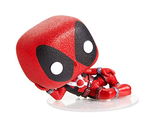 Funko POP! Diamond Collection Marvel #320 - Deadpool H.T. Exclusive Bundled with Free PET Compatible .5mm Extra Rigged Protector