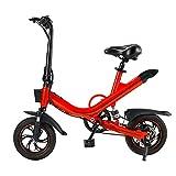 Wheel Scooter Patinete eléctrico Patinete Urbano de Grandes Ruedas de 12 in, Plegable en 3 Segundo City Scooter de Lujo con suspensión Doble, City Roller Plegable y , Scooter para Adulto y Niños