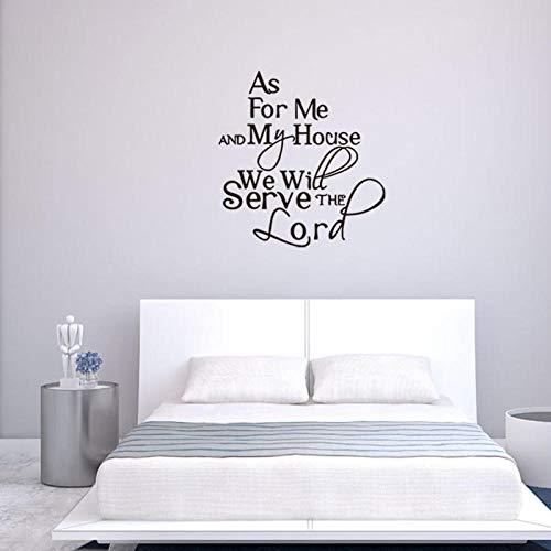Runinstickers Muurstickers Quotse, Simple Creative Letter Art Decals DIY muursticker vinylbehang woonkamer slaapkamer sticker Home sticker nachtwandsticker decoratie