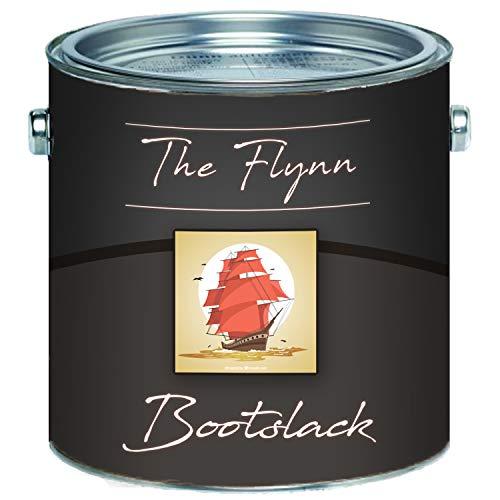 The Flynn 2K Bootslack hochwertiger Yachtlack für GFK / Polyester / Kunststoff Bootsfarbe Yachtfarbe 2 Komponenten Pakett-Lack Schiffslackierung (2,5 kg, Anderer RAL-Farbton (Bitte RAL Wert senden))
