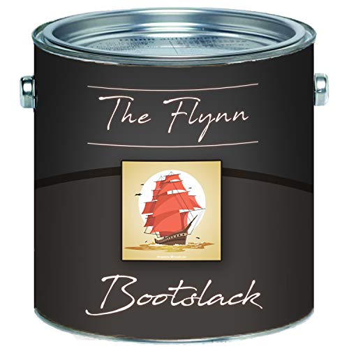The Flynn 2K bootlak hoogwaardige jachtlak voor GFK/polyester/kunststof kleurkeuze en kleurloze bootkleur glanzende jachtkleur 2 componenten lak scheepslak
