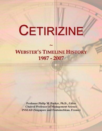 Cetirizine: Webster\'s Timeline History, 1987 - 2007
