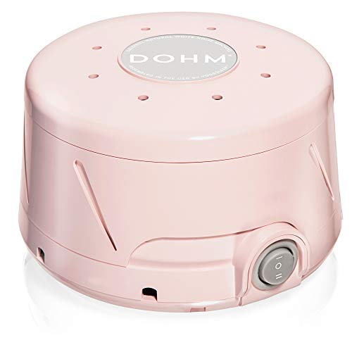 Yogasleep Dohm Classic (Pink) | The Original White Noise Machine | Soothing Natural Sound from a Real Fan | Noise Cancelling, Sleep Therapy, Office Privacy, Travel, for Adults & Baby, 101 Night Trial