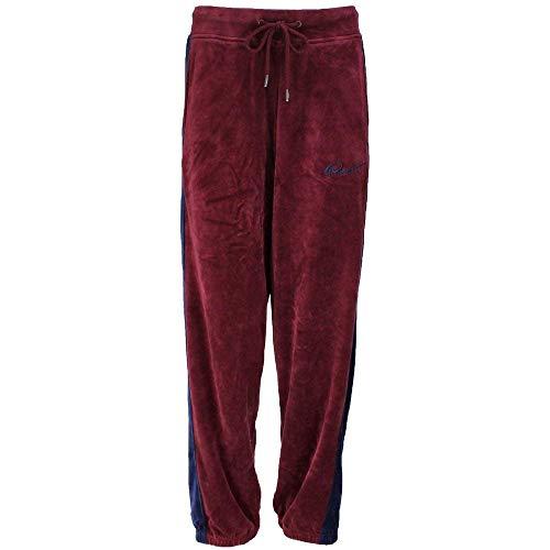 PUMA Velour Track Pants Tawny Port XL