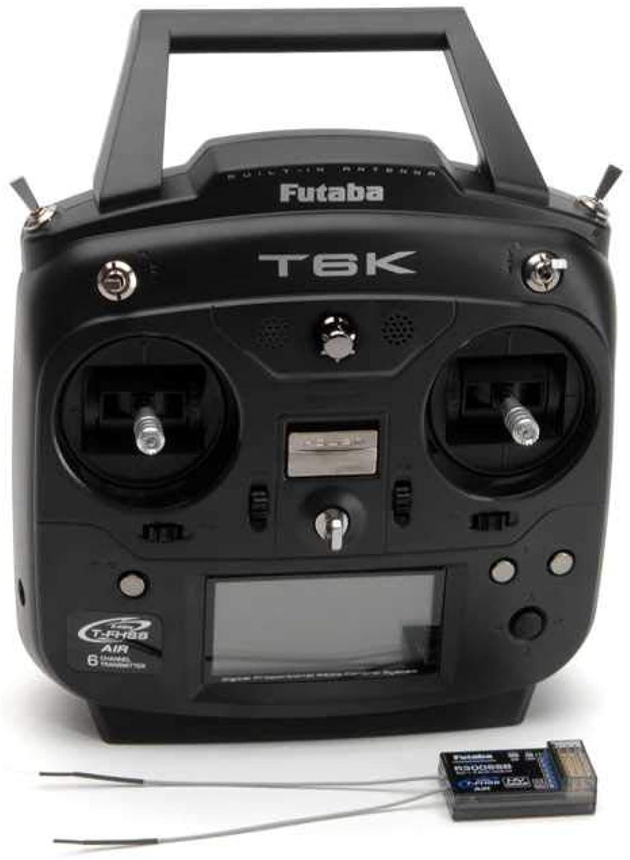 FUTABA T6K T-FHSS MODE 2 FERSTEUERUNG MIT R3006SB