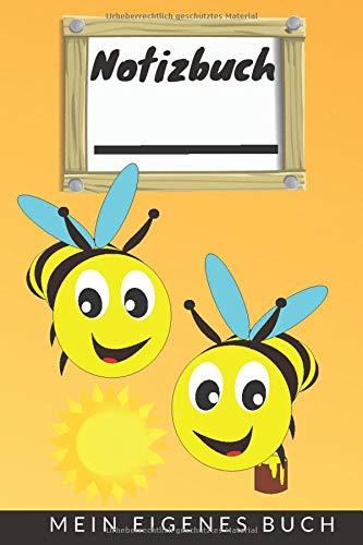 Bienen Notizbuch Kinder / Malbuch / Tagebuch / Journal / Geschenk: Bienen Honig Bee Erfolgsjournal / Für Jungen & Mädchen Notizheft, liniert DIN A5 ... Schule- Weihnachts- & Geburtstags- Geschenk