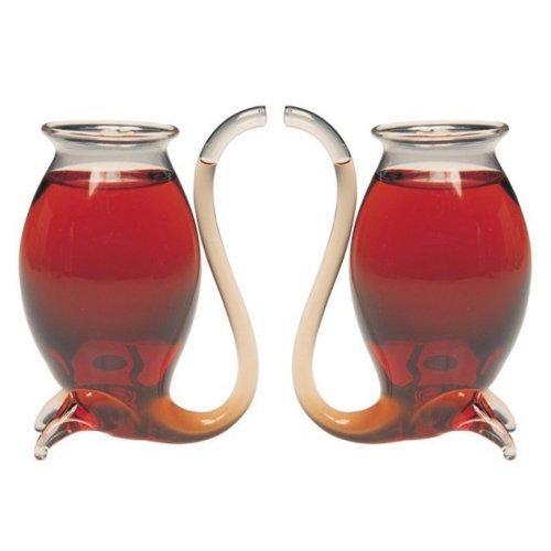 Jeray Port - Bicchieri per sorseggiare Il Vino (Confezione da 2)