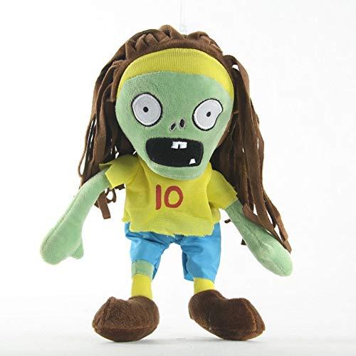 30cm Stora uppstoppade djur Doll Number 10 Athlete Zombie gosedjur Växter Vs Zombies mjuka soffan Pillow bästa gåvor för barn och vuxna