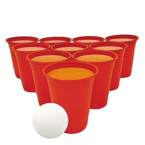 Bierpong set drinken draagbare party tafel jongeren volwassenen alcohol tegen dranken grappige spellen