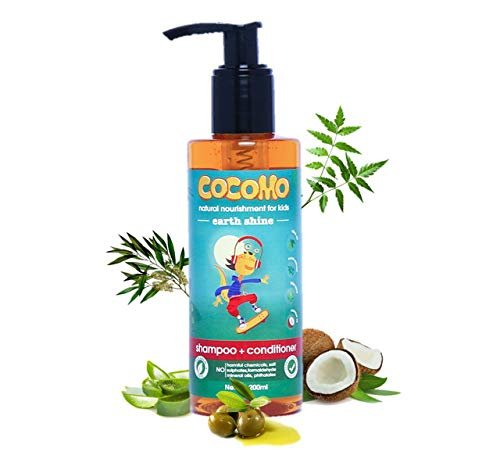Cocomo Natural, Sulphate and Paraben Free Kids Shampoo & Conditioner - Earth Shine 200ml (Age: 4 yrs and Above)