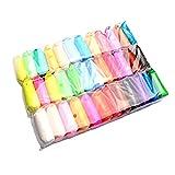 Juego de Juguetes de Arcilla de plastilina de 36 Colores de Arcilla súper Ligera, Juguete de Arcilla para niños
