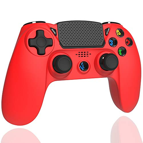 Elyco Controller per PS4, Bluetooth Gioco Controller Joystick Wireless Joypad Gamepad Compatibile con Playstation 4 / PRO/Slim / PS3